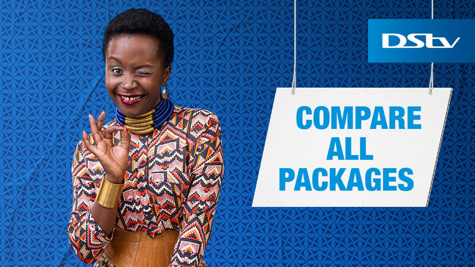 DStv Compare Packages