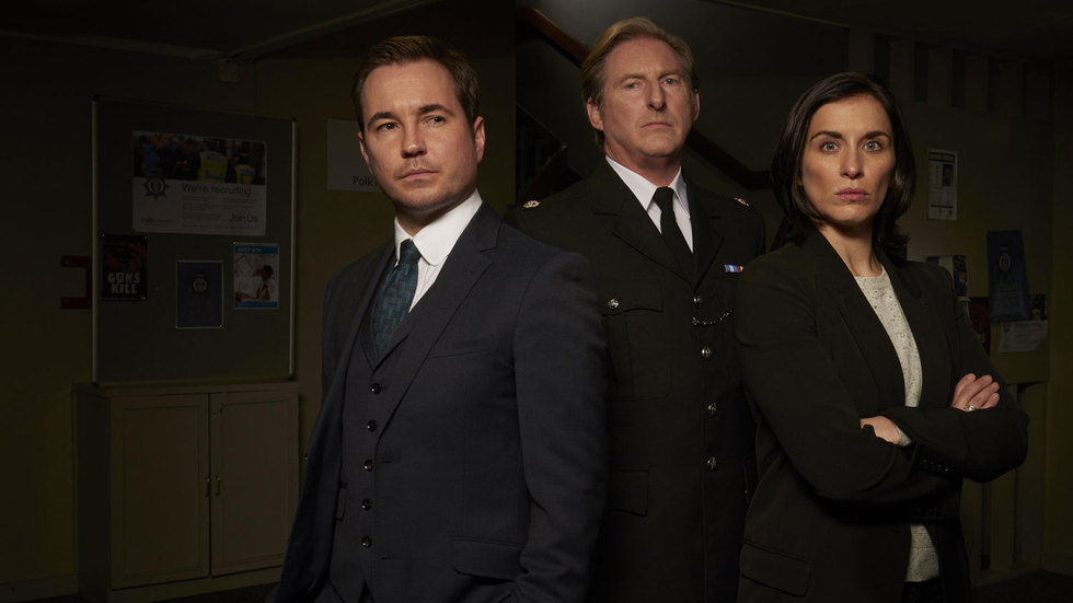 Line of Duty regular cast members.