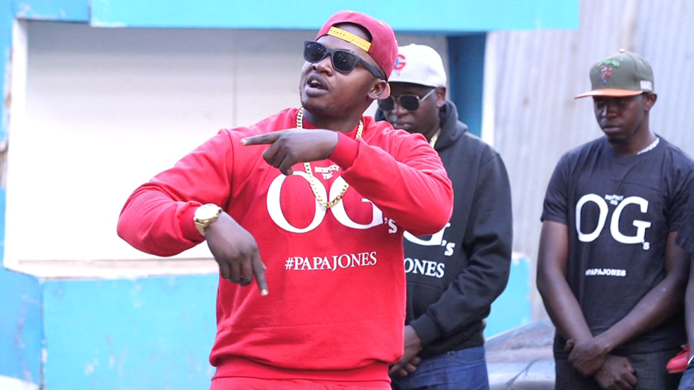 Rapper Khaligraph Jones