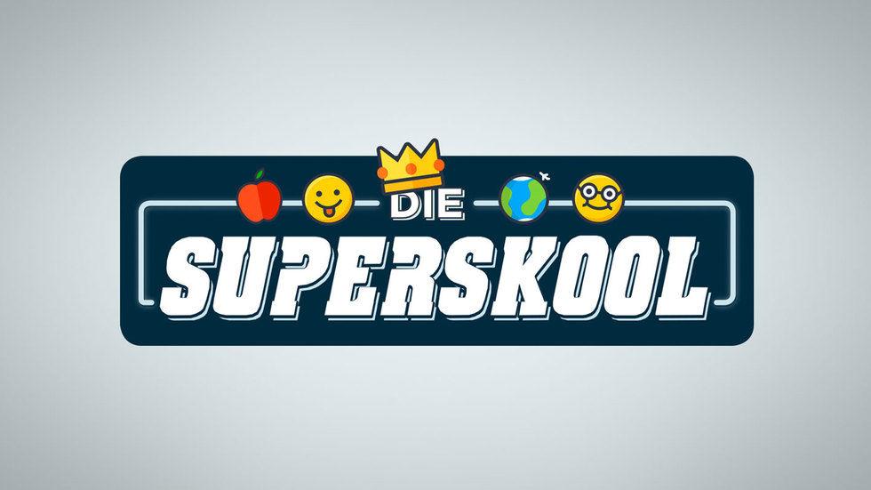 Die superskool logo.
