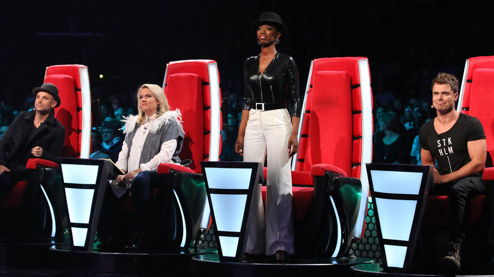 The Voice SA judges.