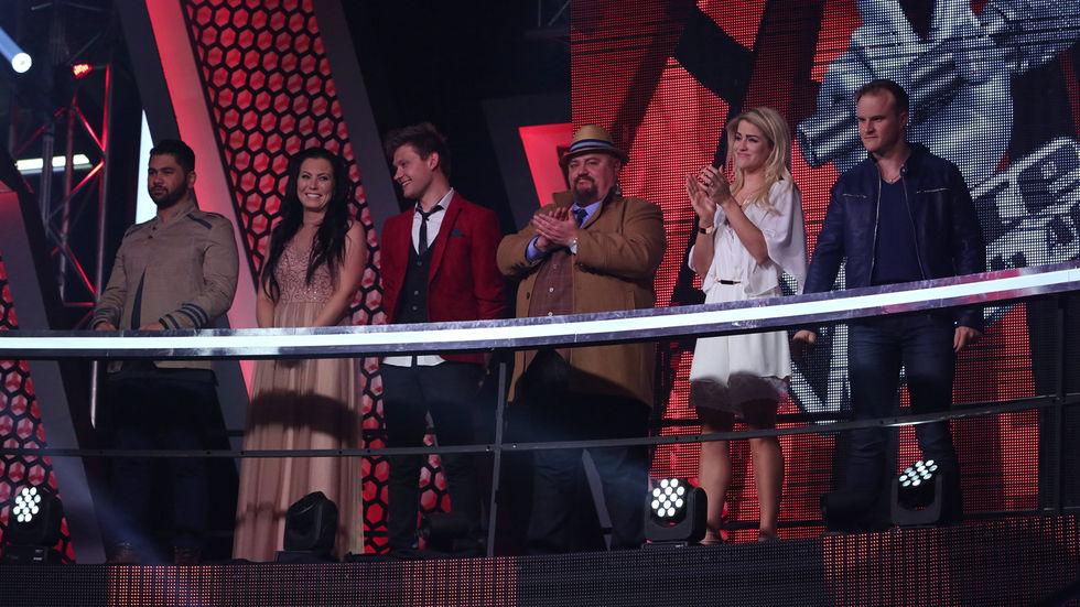 The Voice SA top six.