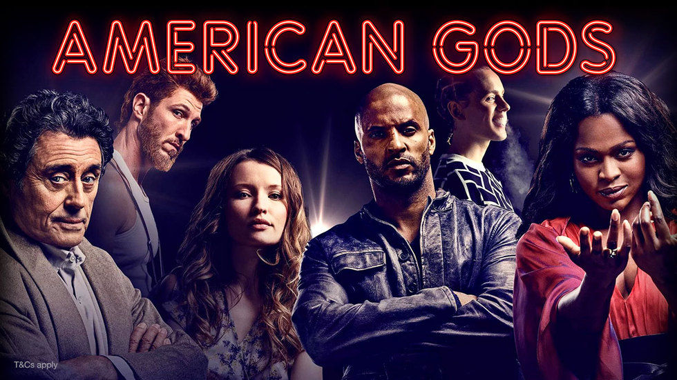 American Gods on DStv Now