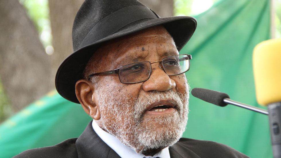 Namibian struggle hero Toivo ya Toivo