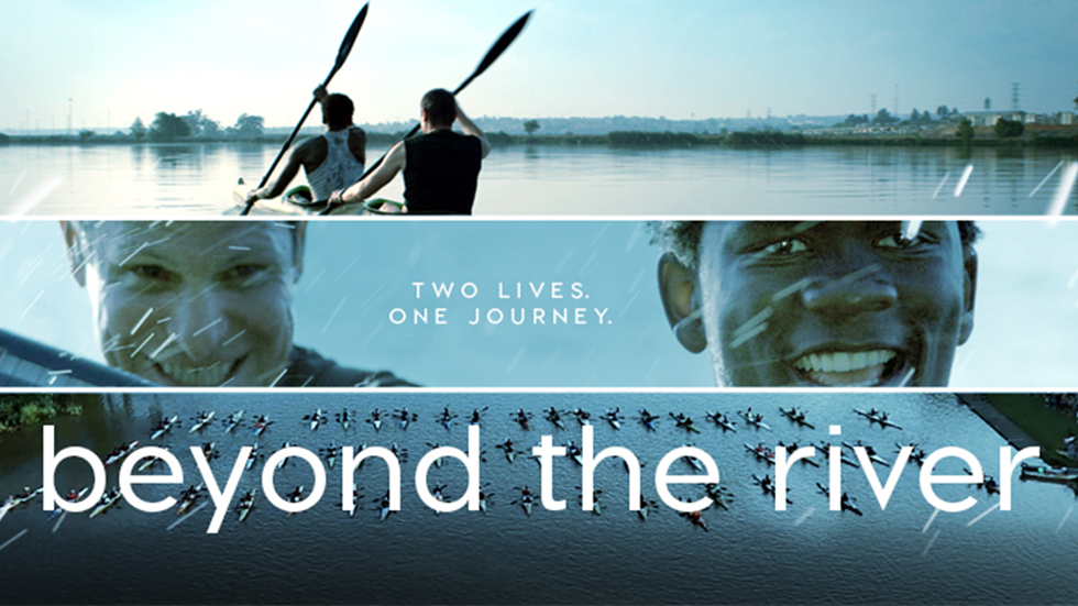 Brands on Demand - Beyond the River Film illustration with the actors in a canoe.