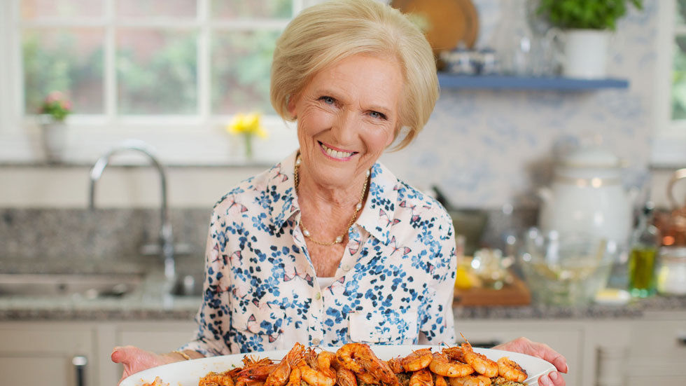 Mary Berry.