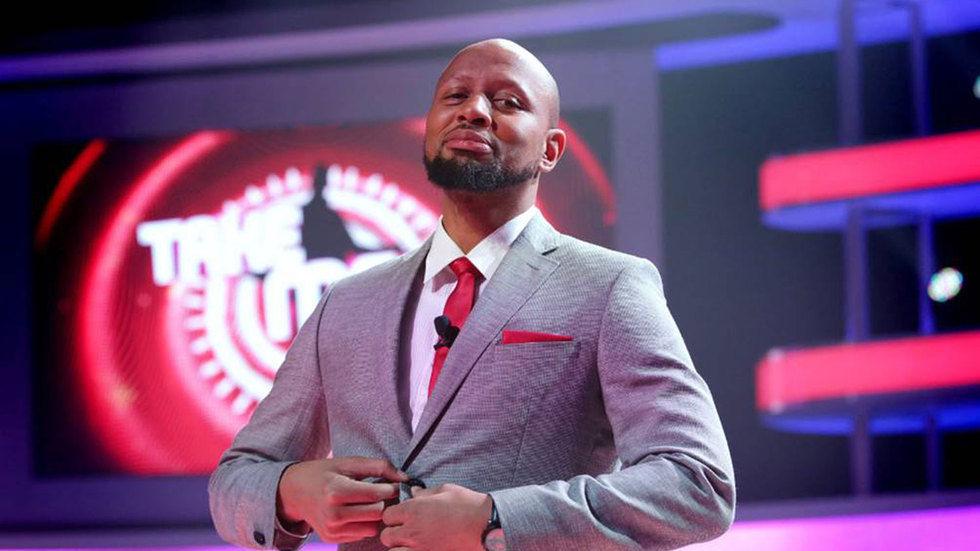 The presenter of Take Me Out Mzansi, Phat Joe.