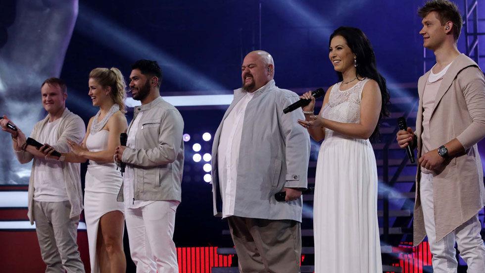 The Voice SA Top 6.