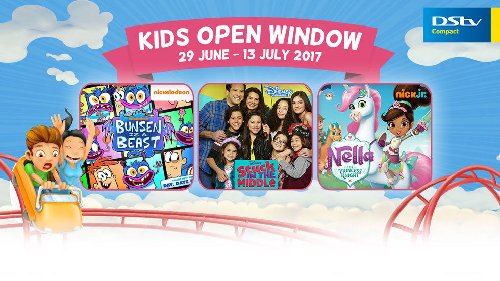 Kids Open Weekend Window.