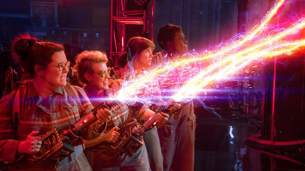 Artwork for the movie Ghostbusters starring Leslie Jones