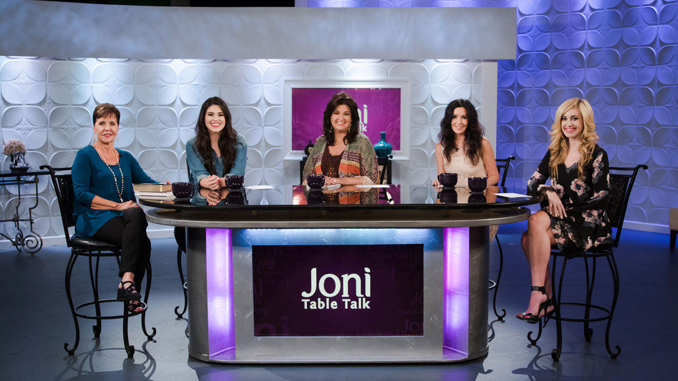 Joni Table Talk hosts.