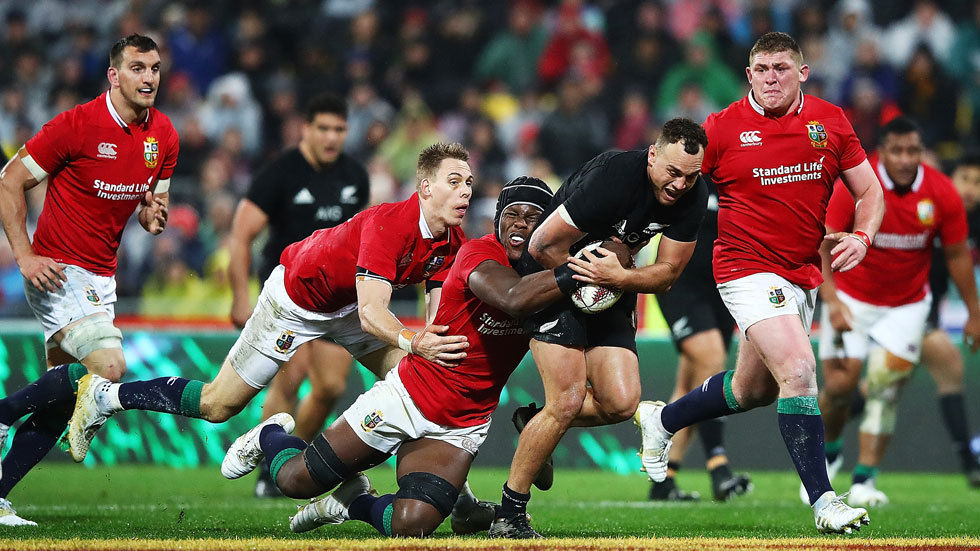 Israel Dagg in action.