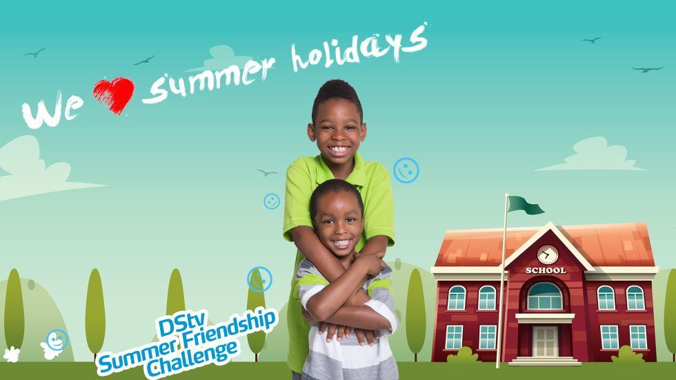 Artwork for DStv Nigeria Friendship Day competition