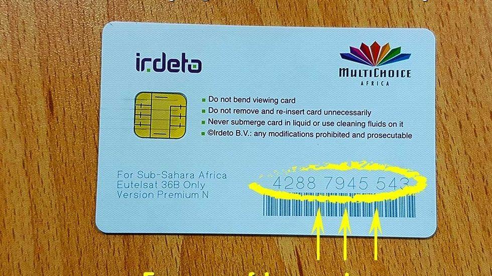 DStv SmartCard