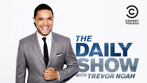 Trevor Noah, host of The Daily Show on Comedy Central, DStv channel 122