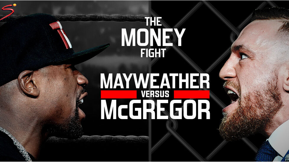 Mayweather and McGregor square up for The Money Fight