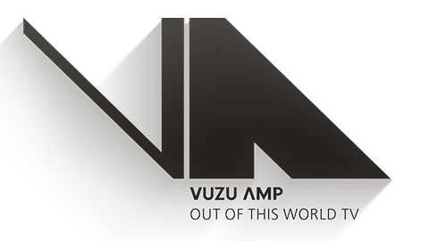 Logo for Vuzu AMP, DStv channel 103