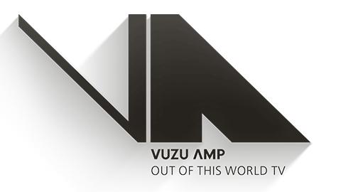 Logo for Vuzu AMP, DStv channel 103