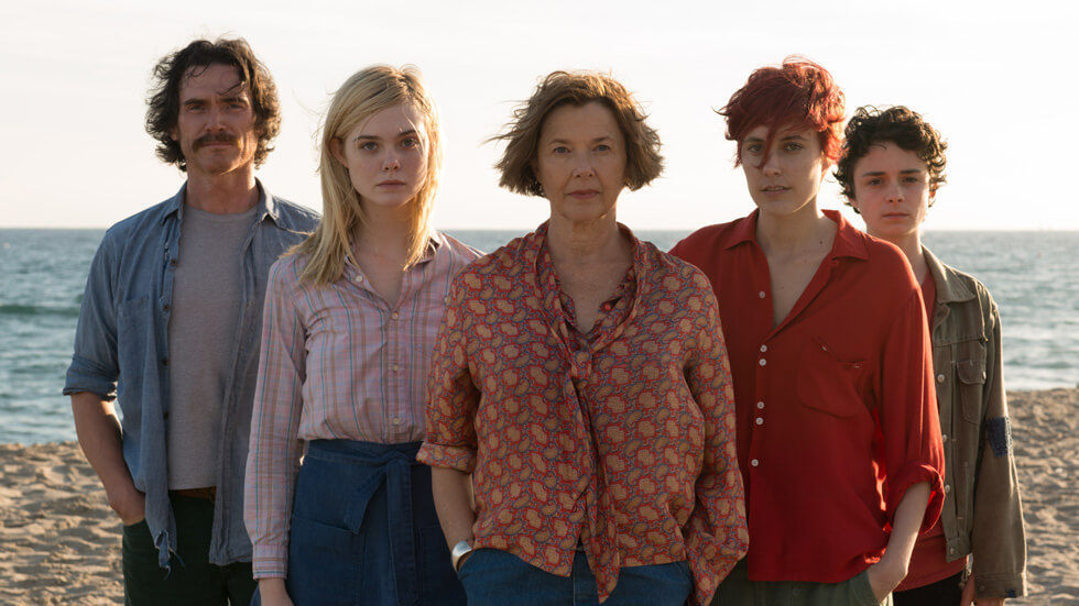 Cast of 20th Century Women.