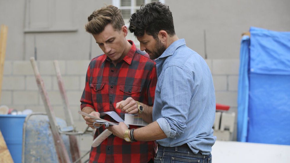 Nate And Jeremiah By Design, with Nate Berkus and husband Jeremiah Brent