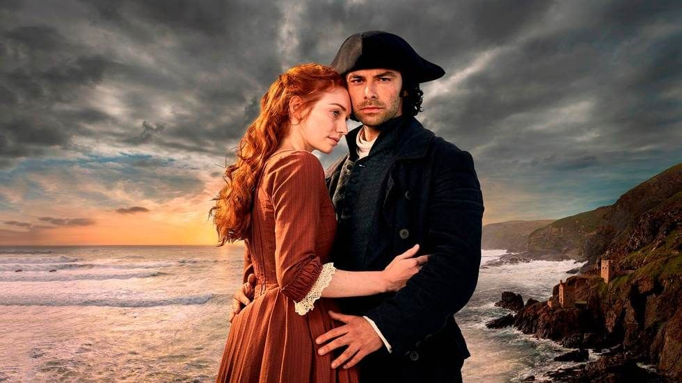 Poldark, S3, Ross Poldark and wife