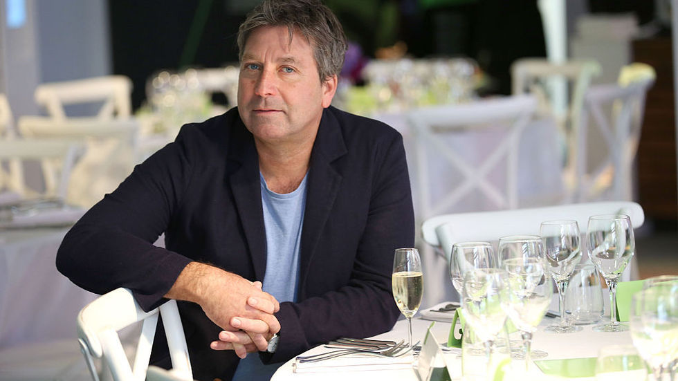 John Torode, judge on Celebrity MasterChef