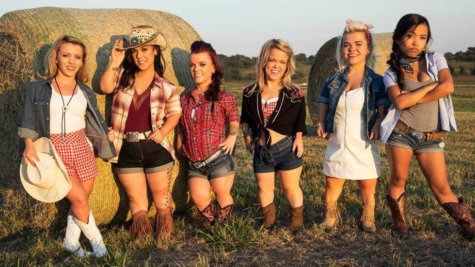 The cast of Little Women: Dallas on Lifetime.