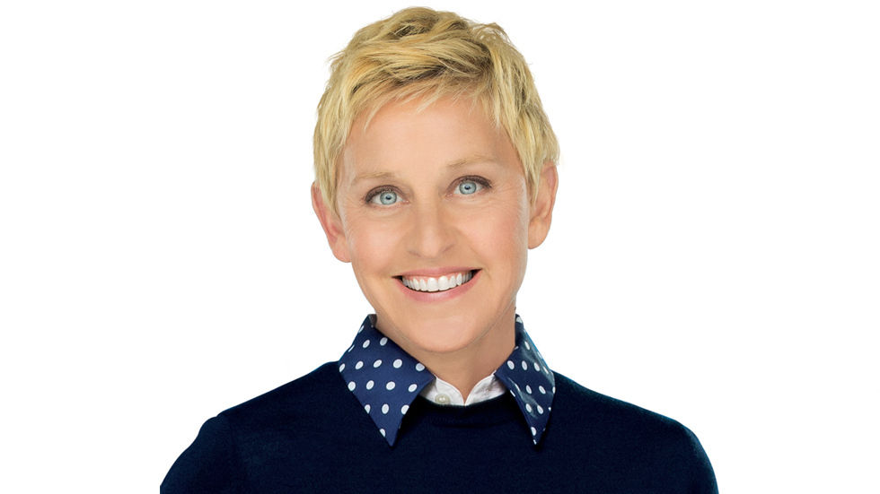 Photot of Ellen DeGeneres.
