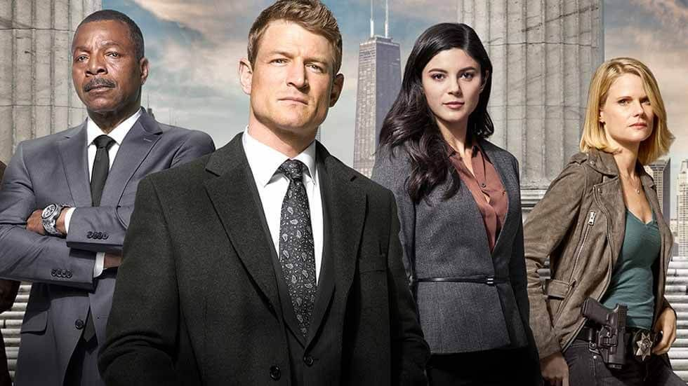 The cast of Chicago Justice S1.