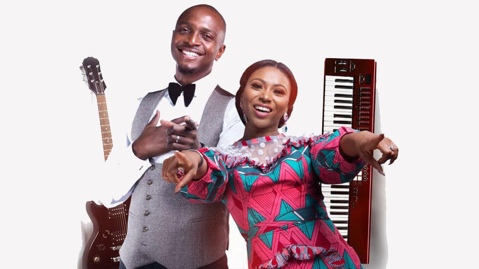 The presenters of The Voice Nigeria