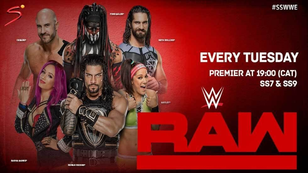 WWE Raw artwork.