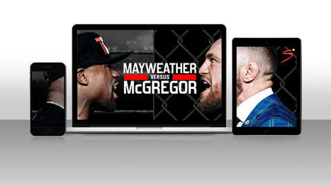 The Money Fight 3 Screens Mayweather v McGregor