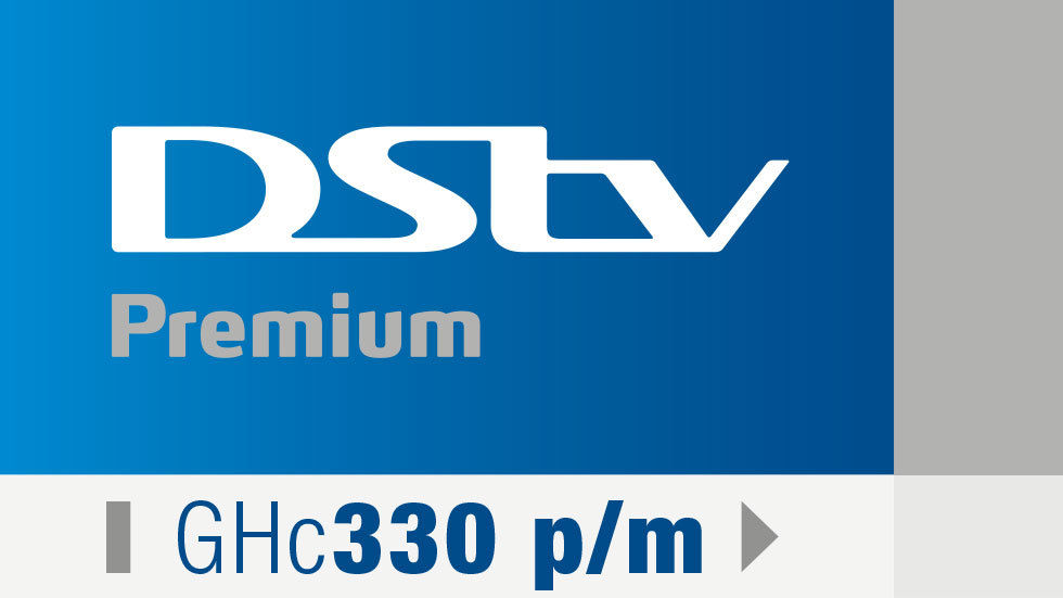 Artwork for Ghana - DStv Premium - Get DStv strip - September 2017