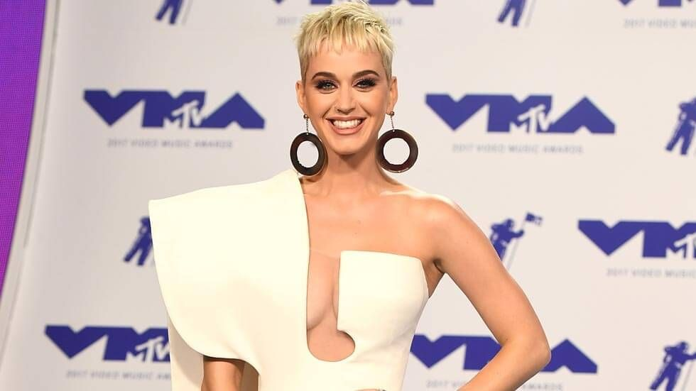 Katy Perry at the 2017 MTV VMAs.