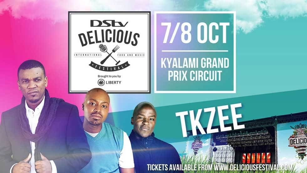 An image for DStv Delicious performers TKZee