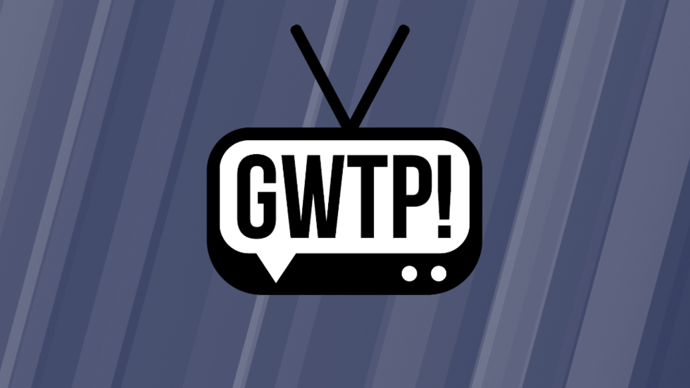image of a tv set with the letters GWTP in it