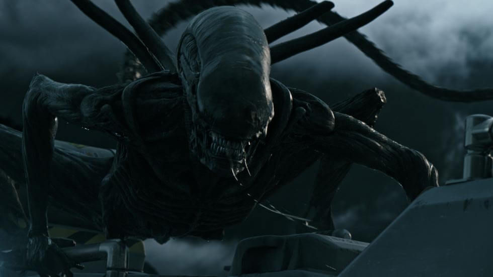 A scene from Alien Covenant.