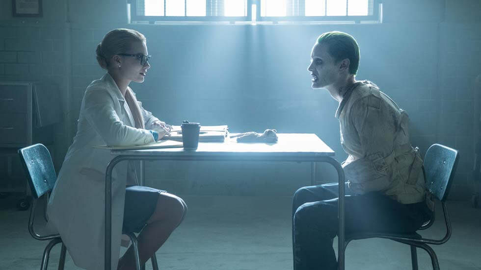 A scene from Suicide Squad.