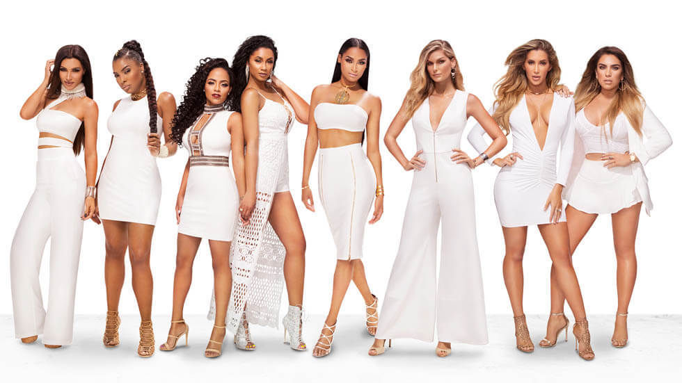 The cast of WAGS Miami S2.