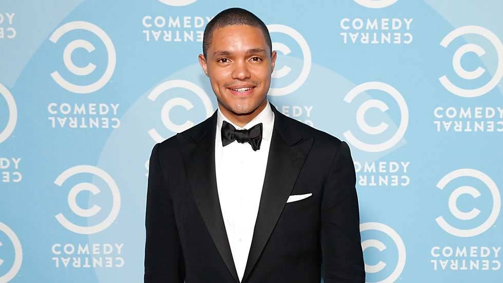 An image of Daily Show host Trevor Noah