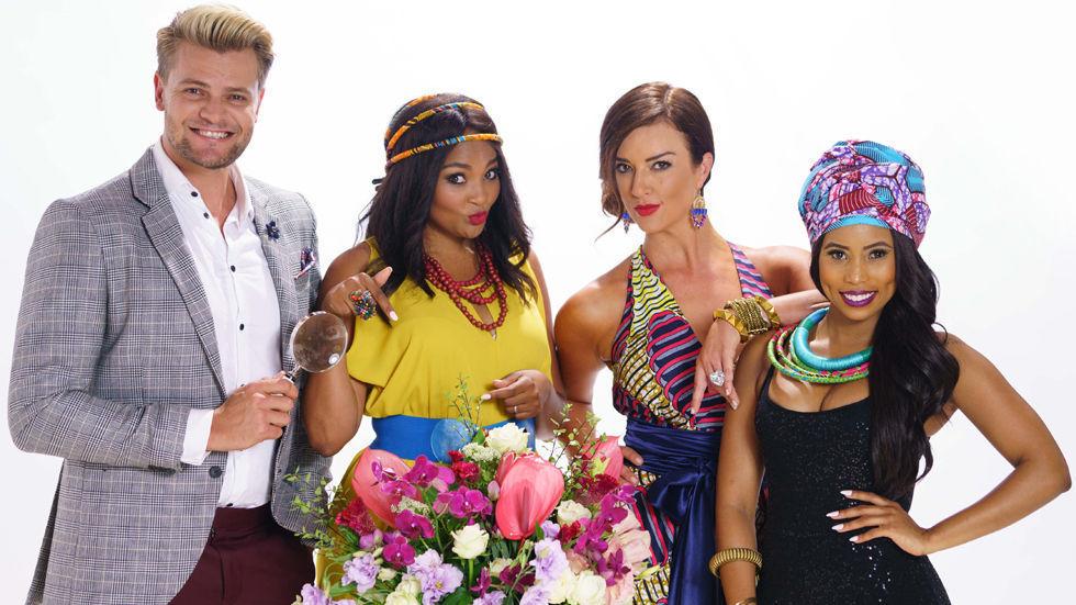 The celebrity judges on Wedding Bashers.