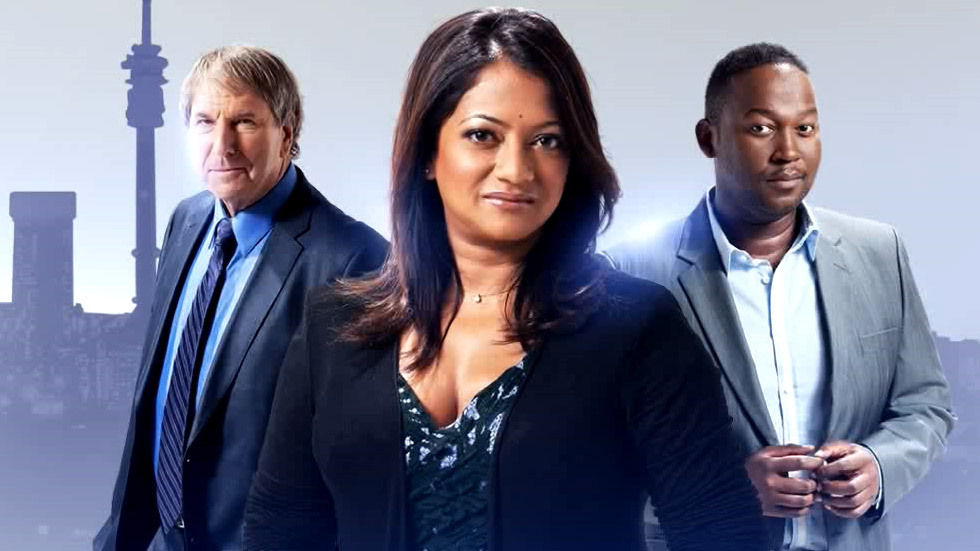 Derek Watts, Devi Naidoo and Bongani