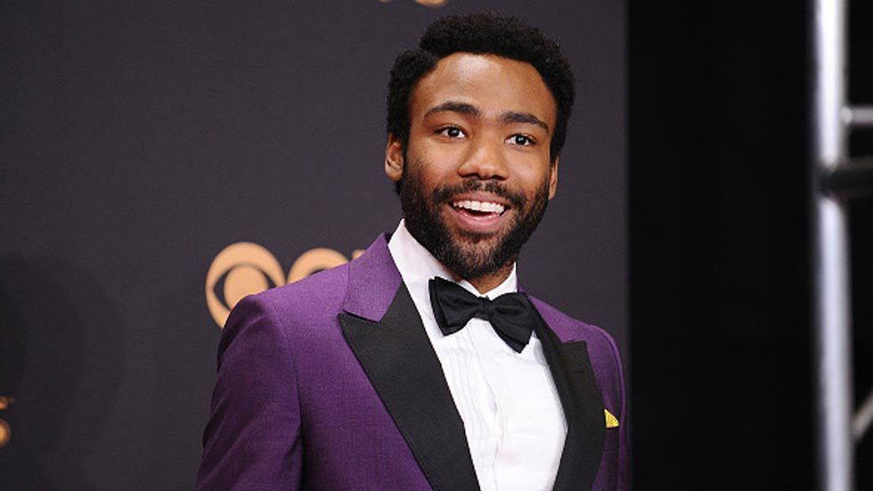 Donald Glover at the 69th Emmy Awards