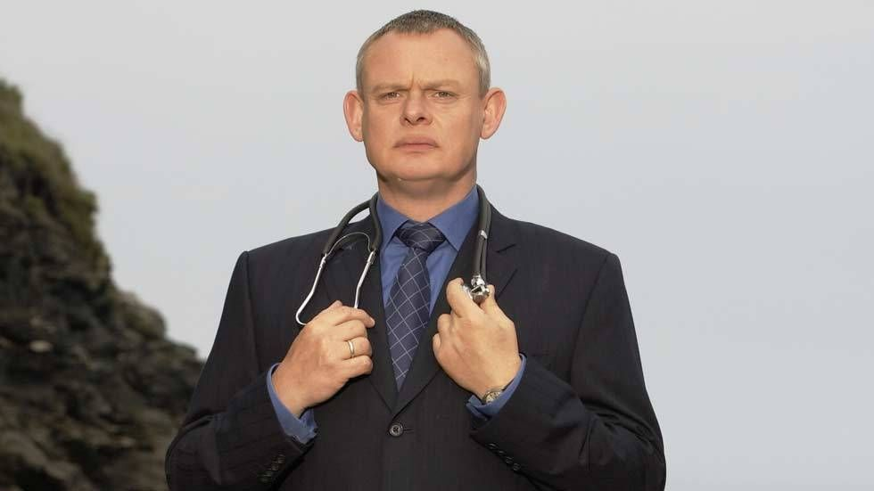 An image of Martin Clunes in Doc Martin