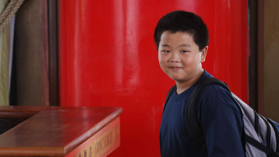 The star of comedy series Fresh off The Boat, Hudson Yang.