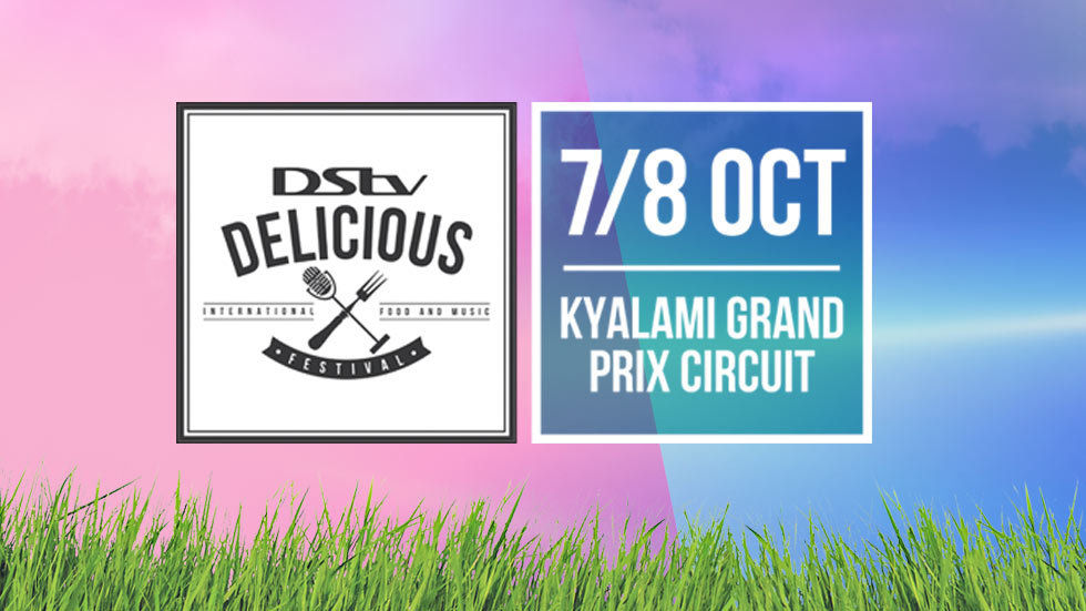 The logo and artwork for DStv Delicious