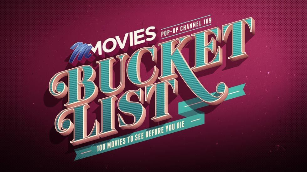 Logo for the M-Net pop-up channel Bucket List