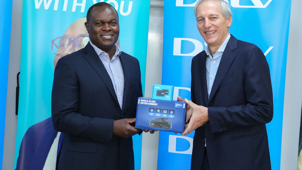 MCK MD and Telkom MD launch DStv na Internet bundle