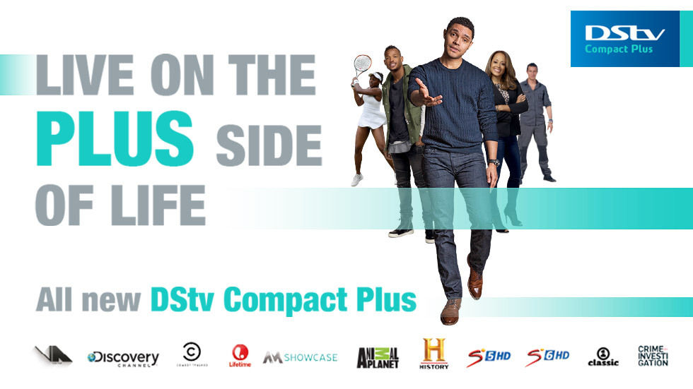 Artwork for DStv Compact Plus in Namibia