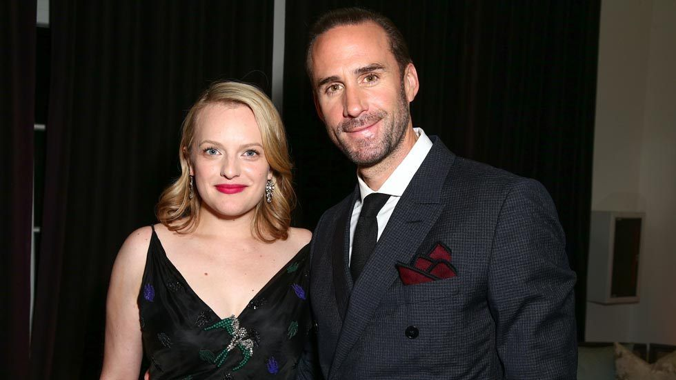 Actors Elisabeth Moss (L) and Joseph Fiennes attend the after party for the premiere of Hulu's 'The Handmaid's Tale' on April 25, 2017 in Hollywood, California. (Photo by Rich Fury/Getty Images)